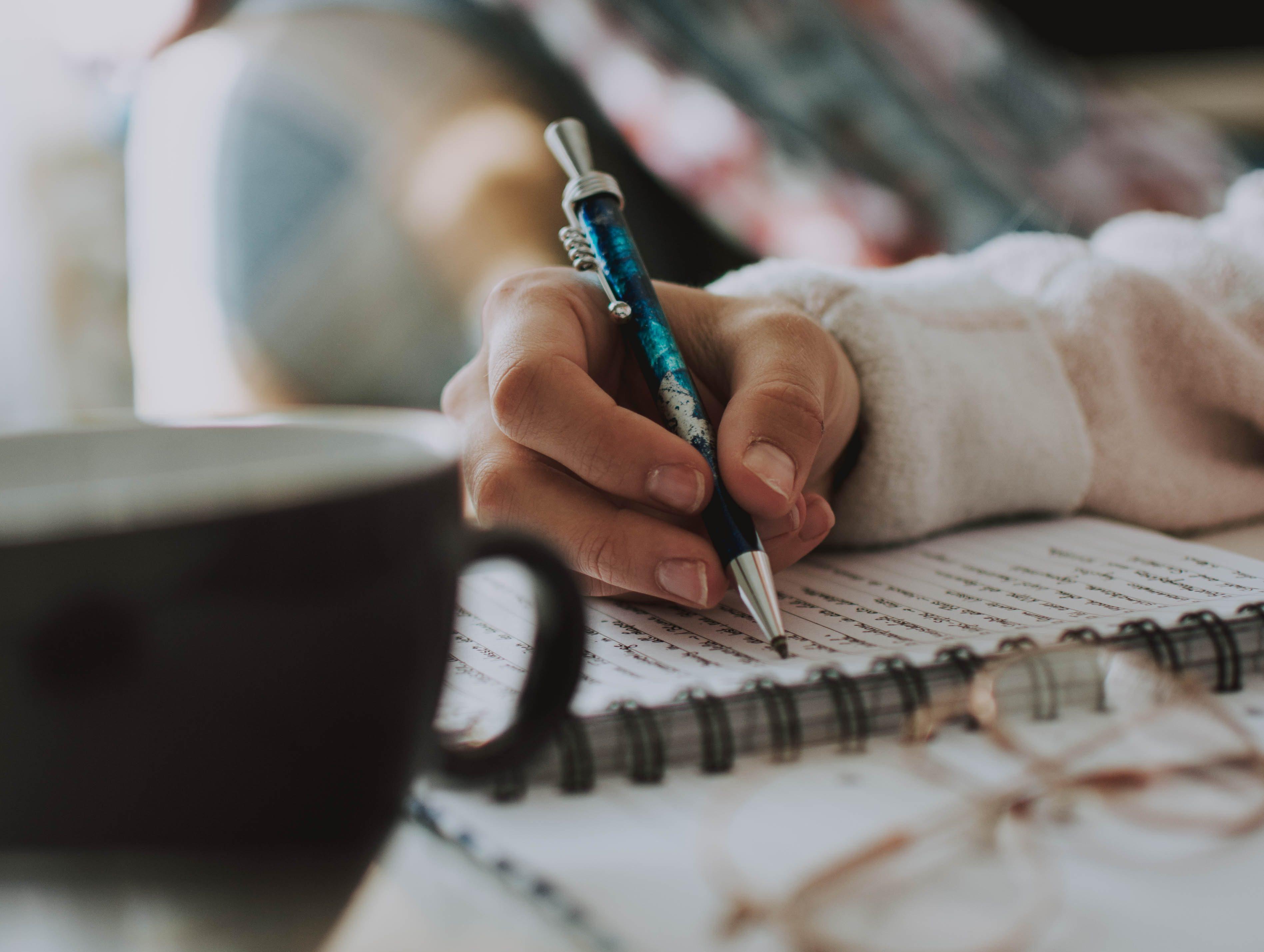 ジャーナリング 書く瞑想